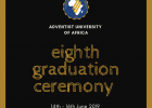 Invitation to the 8th Graduation Ceremony