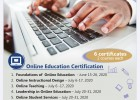 Online Education Certification